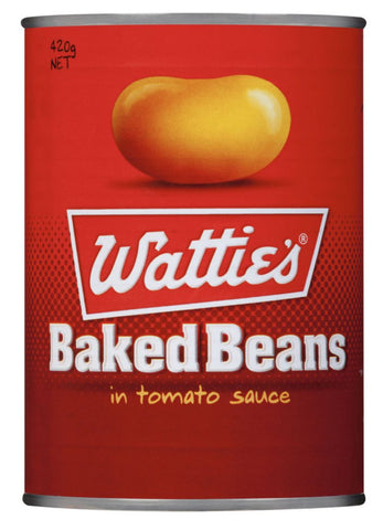 Watties Baked Beans In Tomato Sauce 420g