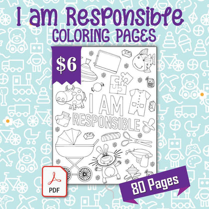 I am Responsible Coloring Pages