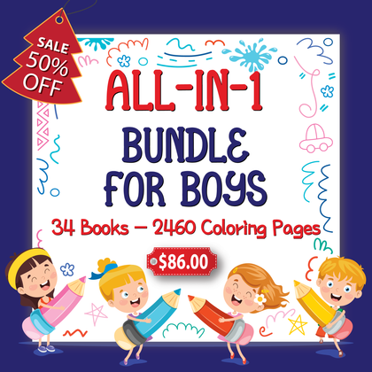All-in-1 Bundle For Boys - AmberForrest