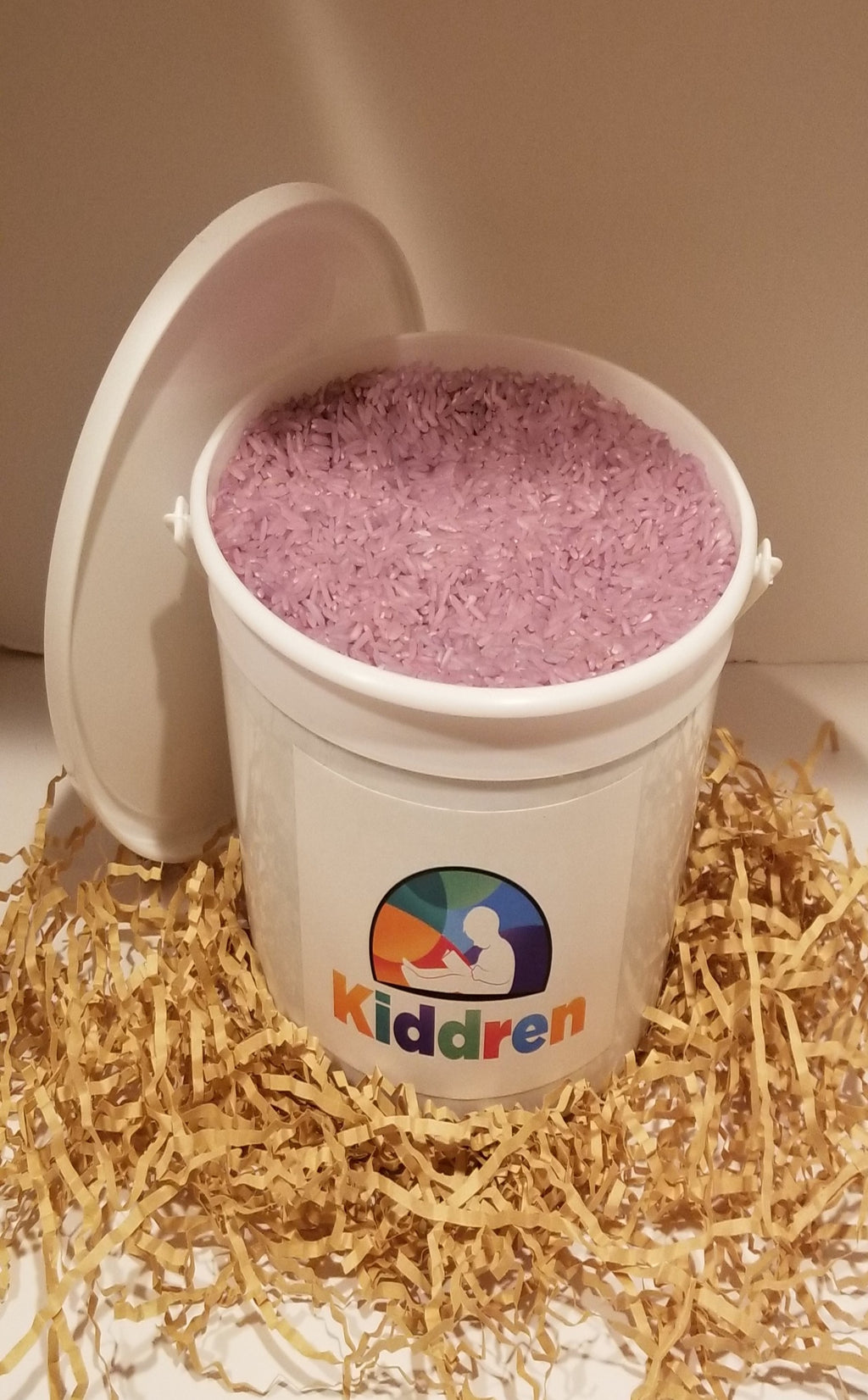 Bright Purple Colored Rice Bucket - Kiddren