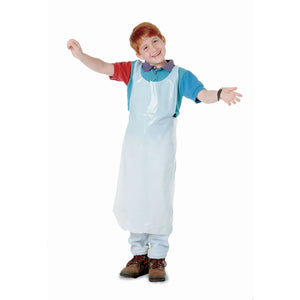 Childrens Disposable Aprons 100pk - Kiddren