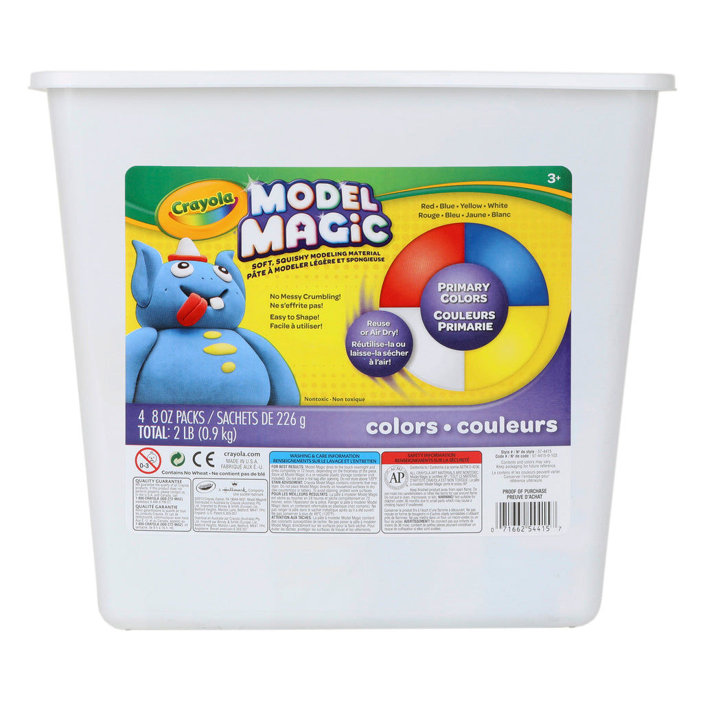 Model Magic 2lb Bucket Assorted Colors - Kiddren