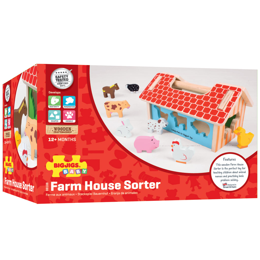 Farm House Sorter - Kiddren