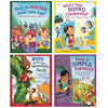Stem Twisted Fairy Tales Set Of 4 Books - Kiddren