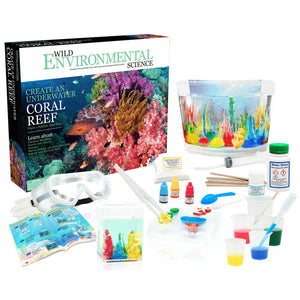 Create An Under Watercoral Reef Wild Science - Kiddren