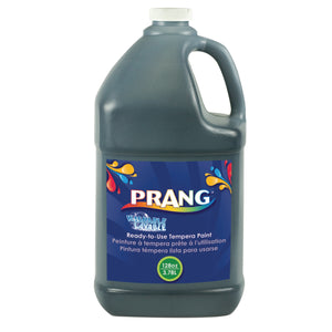 Prang Washable Paint Black Gallon - Kiddren