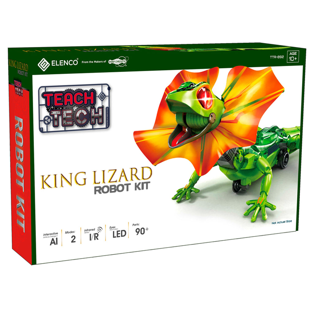 King Lizard Robot Kit - Kiddren