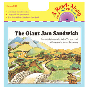 Carry Along Book-cd The Giant Jam Sandwich - Kiddren