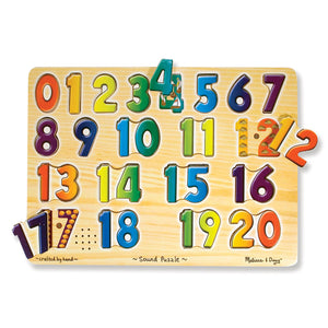 Sound Puzzles Numbers - Kiddren