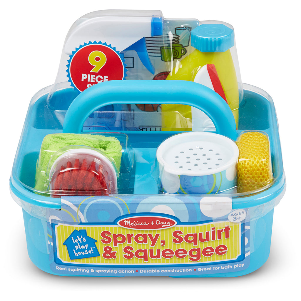 Lets Play House Spray Squirt & Squeegee Play Set - Kiddren