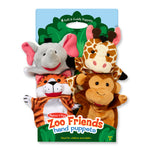 Zoo Friends Hand Puppets - Kiddren