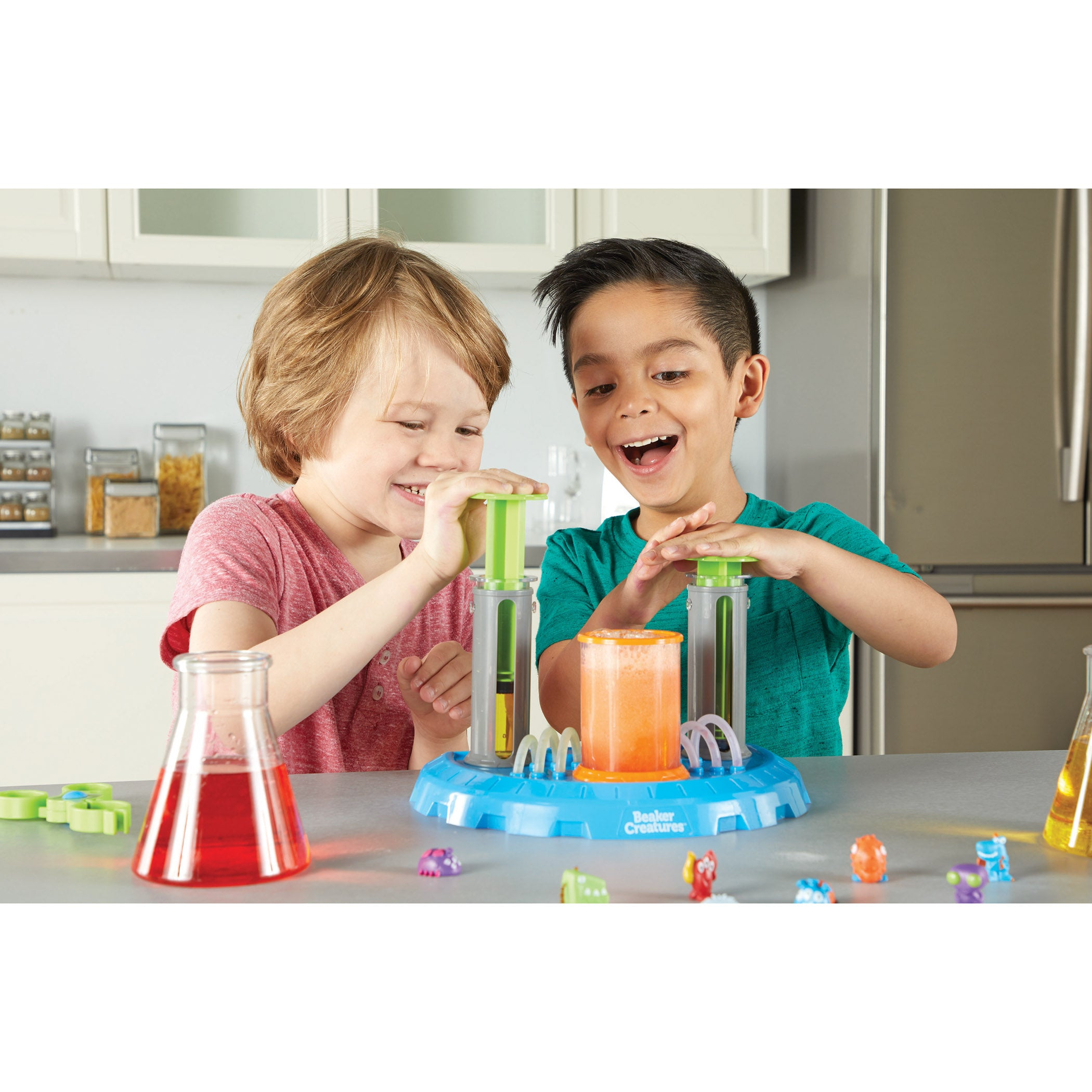 Beaker Creatures Liquid Reactor Super Lab - Kiddren