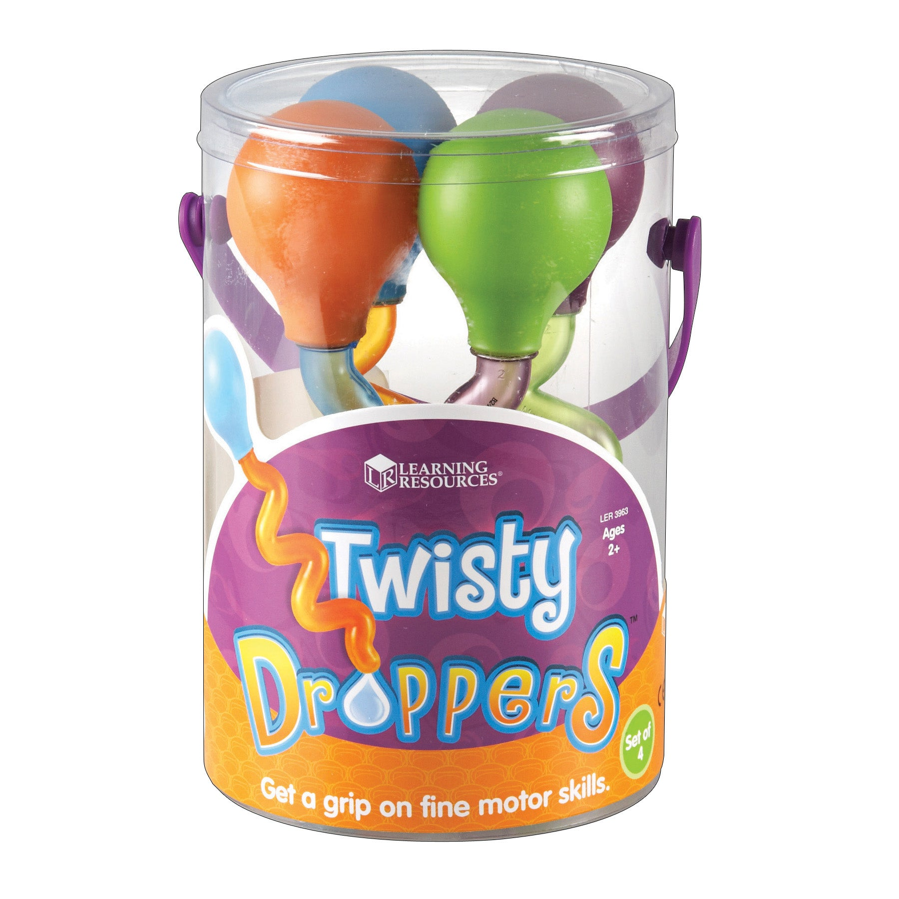 Twisty Droppers Set Of 4 - Kiddren