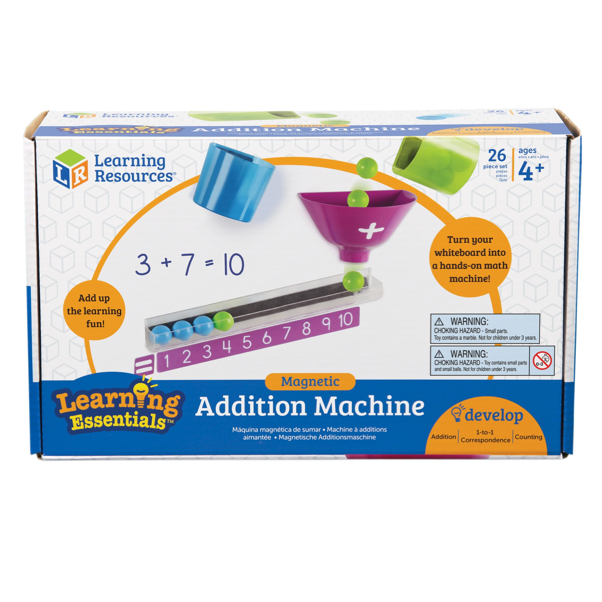 Magnetic Addition Machine - Kiddren