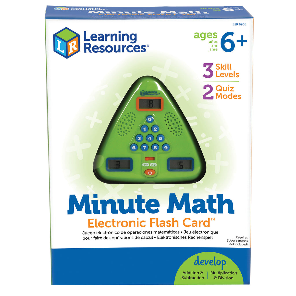 Minute Math Electronic Flash Card - Kiddren