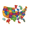 Magnetic Us Map Puzzle - Kiddren