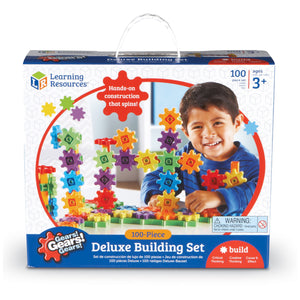 Gears Deluxe Building Set 100pcs - Kiddren