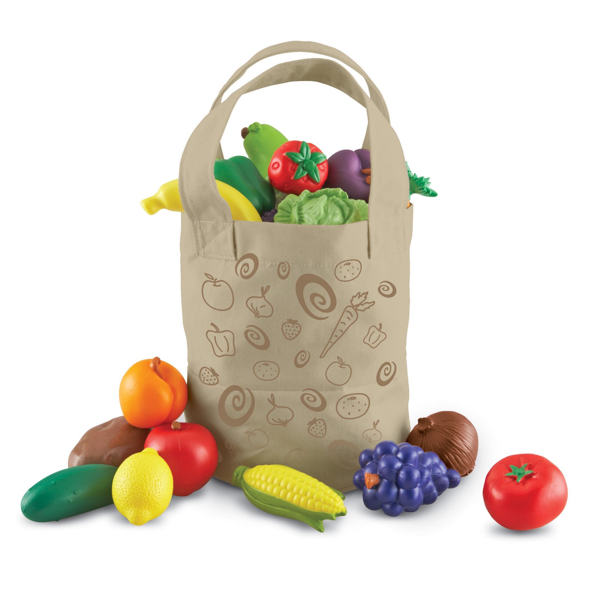 New Sprouts Fresh Picked Fruits & Veggie Tote - Kiddren