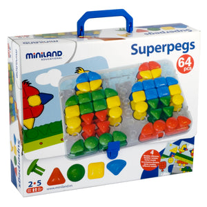 Super Pegs Board - Kiddren