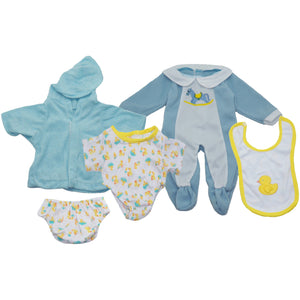 Doll Clothes Set Of 3 Boy Outfits - Kiddren