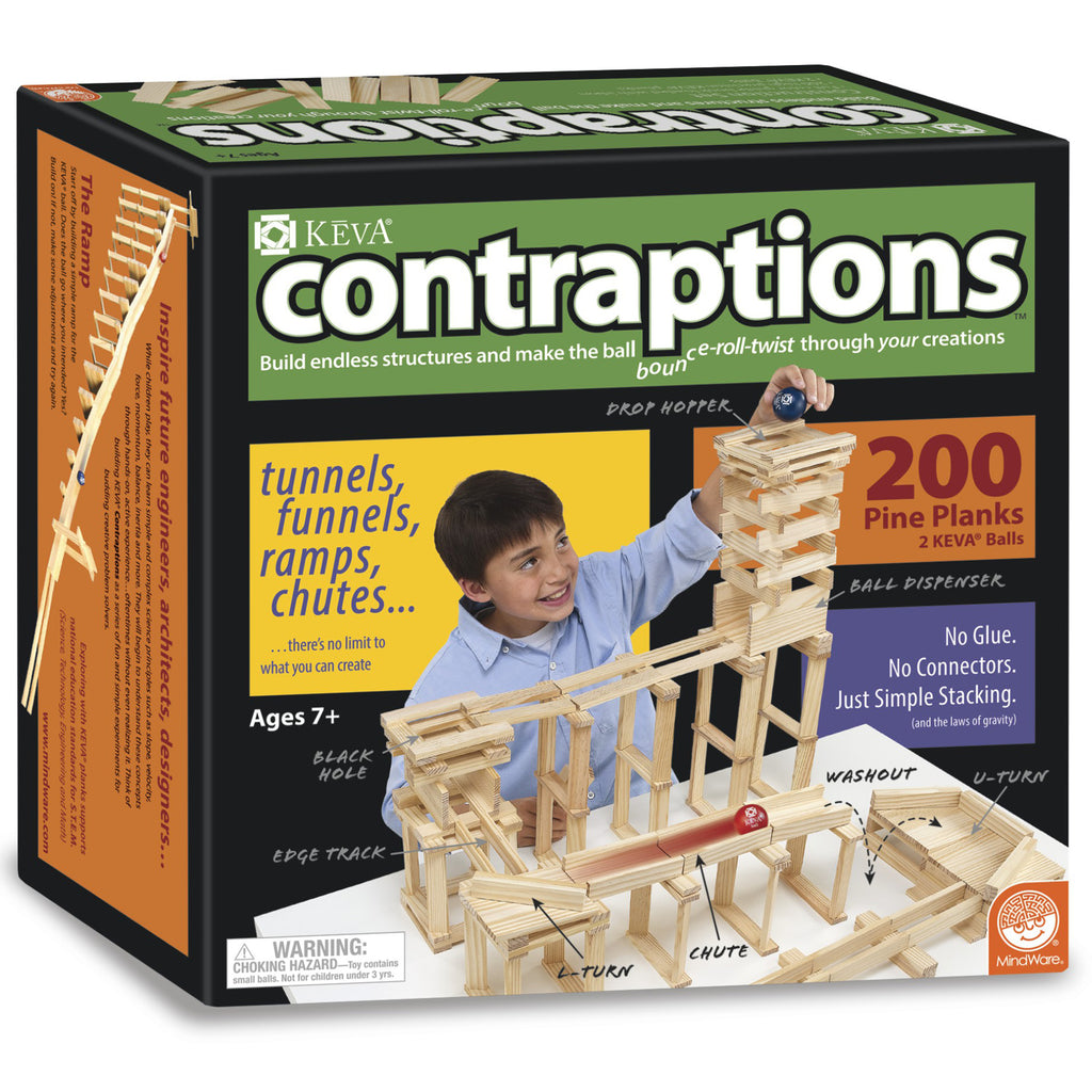 Keva Contraptions 200 Plank Set - Kiddren