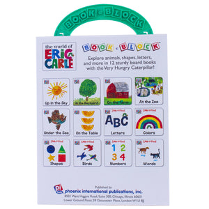 My First Library Eric Carle 12 Book - Kiddren
