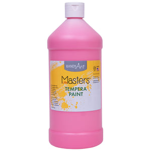 Tempera Paint Quart Pink Little Masters - Kiddren