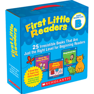First Little Readrs Parent Pk Lvl B - Kiddren