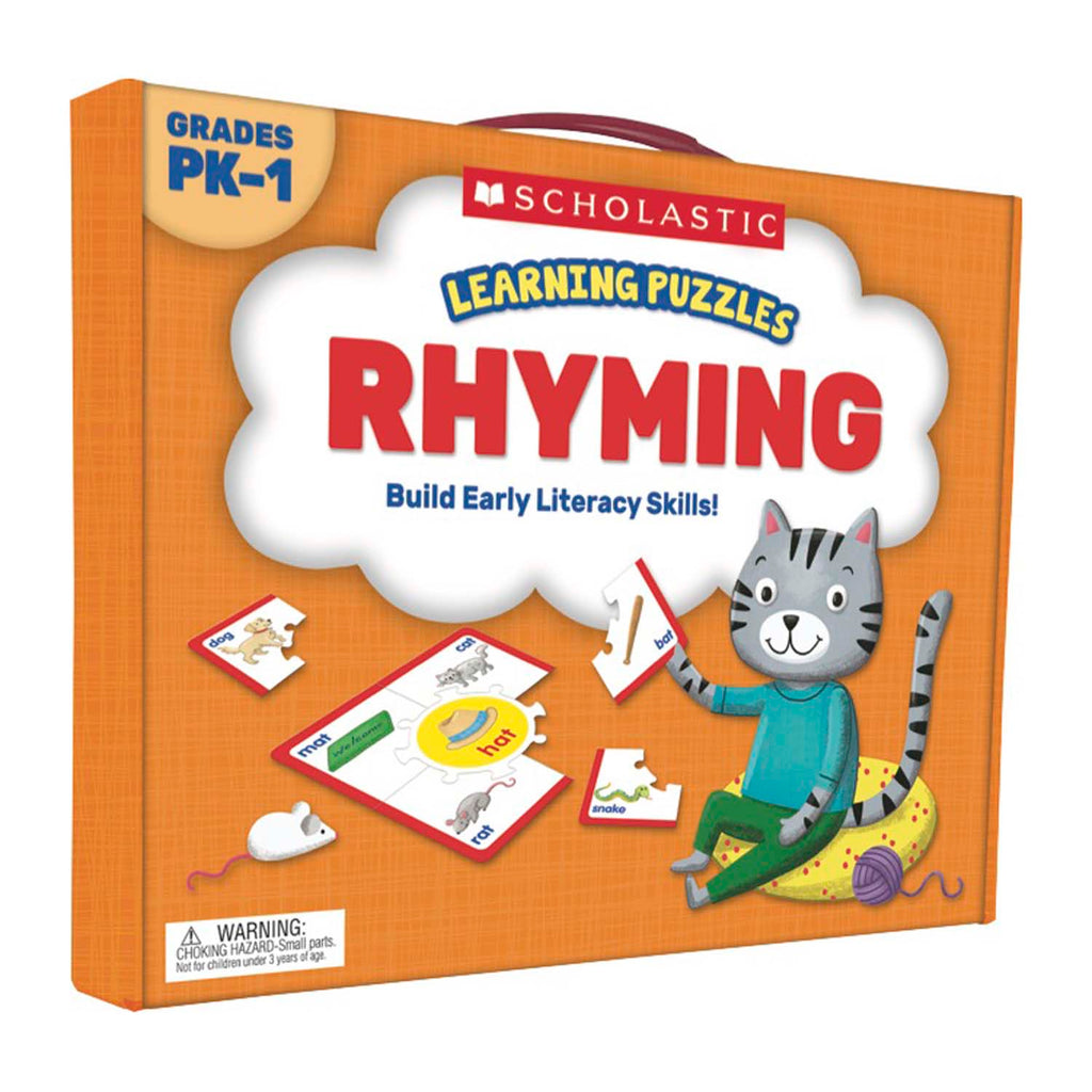 Learning Puzzles Rhyming - Kiddren