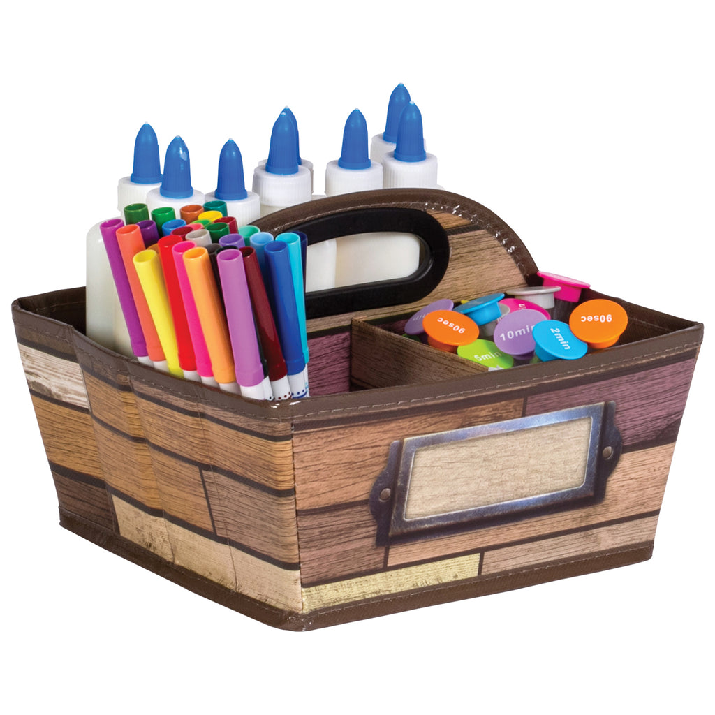 Reclaimed Wood Storage Caddy - Kiddren