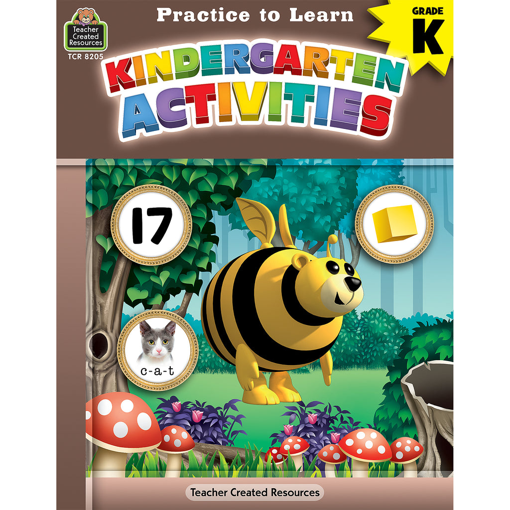 Practice To Learn Kindergarten Activities - Kiddren
