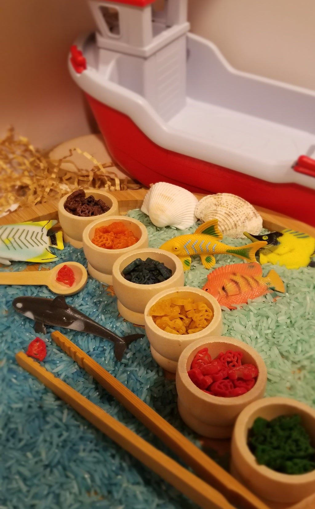 Sea Life Mega Sensory Play Set - Kiddren