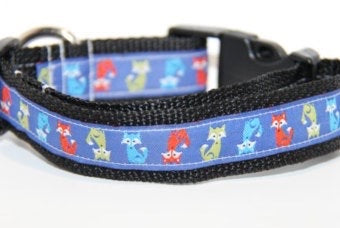 Fox Dog Collar (3/4