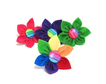 Rainbow Puppy Petal - 4 colours to choose from.