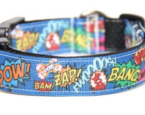 Super Hero Ribbon Collar