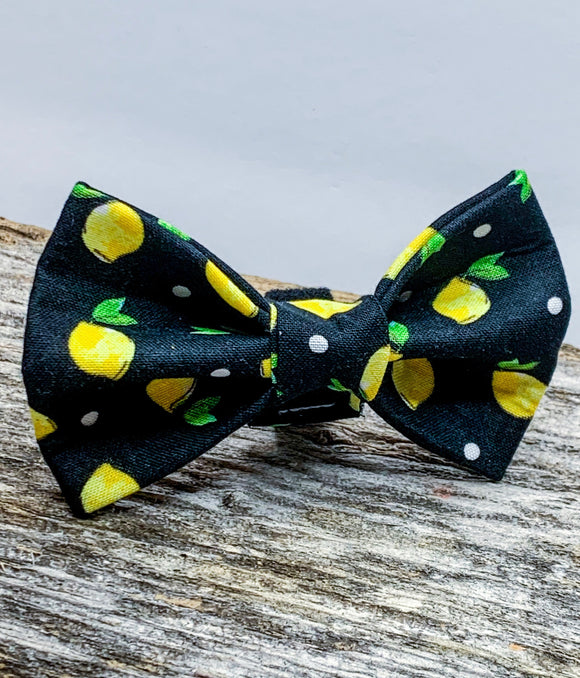 Lemon Doggy Bowtie - 2 styles