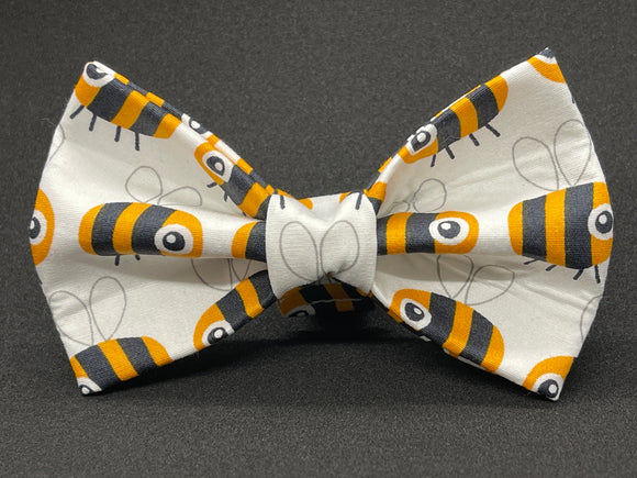 Bees Doggy Bowtie