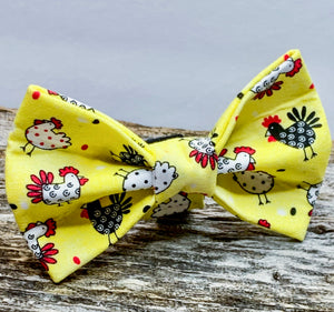 Chicken / Rooster Doggy Bowtie