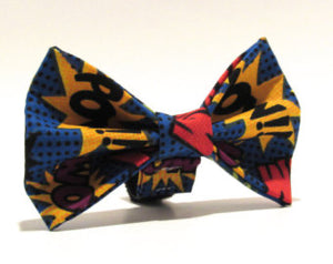 Super Hero Doggy Bowtie