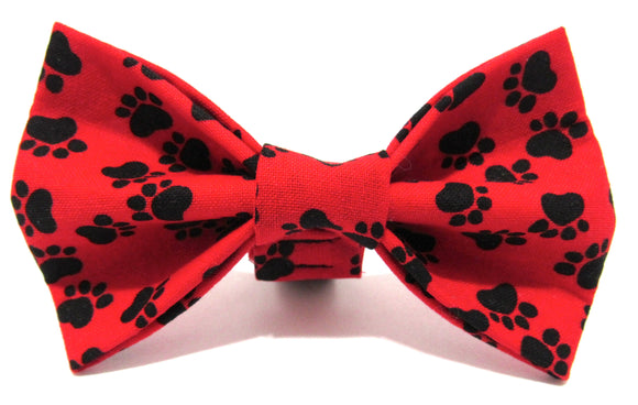 Red Paw Doggy Bowtie