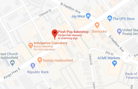 Posh Pop Bakeshop Location
