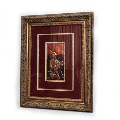 04 Working Man Cooper Wall Art Framed