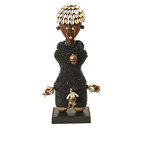Beaded Namji Doll 28 Black