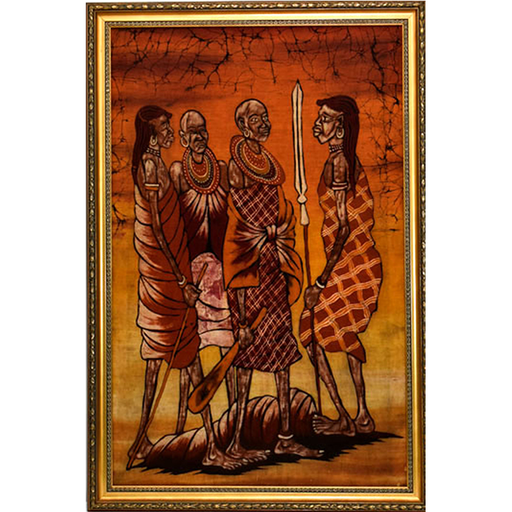 Batik Framed Art 01
