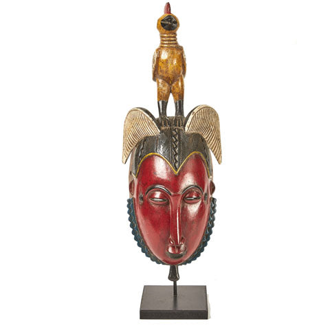 Baule Colored Mask on stand 02