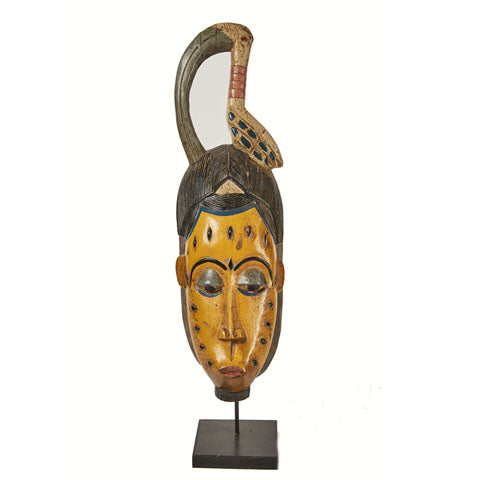 Baule Colored Mask on stand 03