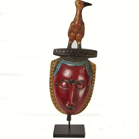 Baule Colored Mask on stand 05