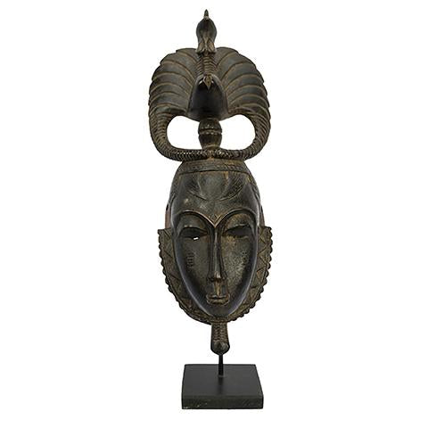 Baule Mask on stand 04