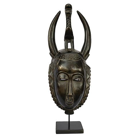 Baule Mask on stand 05
