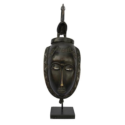 Baule Mask on stand 06